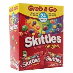 I'm learning all about Skittles Grab Snack Recipes, Snacks, Pop Tarts, Pantry, Lunch Box, Yummy Food, Treats, The Originals, Fruit
