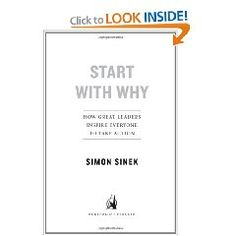 This books is one of the most inspiring management books I've ever read. People don't buy WHAT you sell, but WHY you sell it.