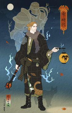 Japanese-inspired art, Dragon Age