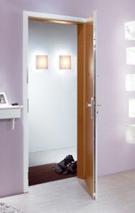 Soundproof Door and frame with different surface on each side