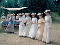 """Lovely blouses and skirts from the """"Road to Avonlea"""" series."""