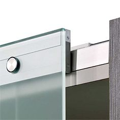 Hawa Puro System : super clean integrated hardware for large glass doors up to 330 lbs.
