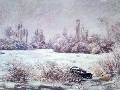 Claude Monet - Il gelo