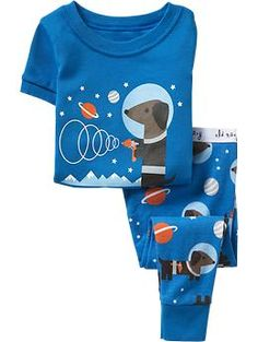"ARE YOU KIDDING ME?!   Space Dachshund pajamas for a baby boy?  *sigh*... purchased and put in the ""baby drawer"" LOL"