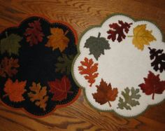 penny rug patterns free - Google Search