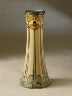 Newcomb Pottery United States, 1902 Earthenware, glaze 8 5/8 x 3 7/8 in. (21.91 x 9.84 cm)