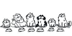 """stray and abandoned cats"" by simon's cat"