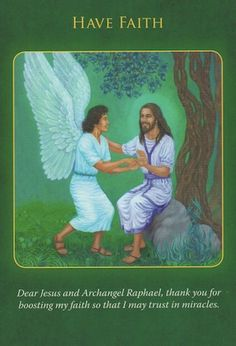 Archangel Raphael Healing Oracle Cards By Doreen Virtue Archangel Raphael, Raphael Angel, Angel Guidance, Spiritual Guidance, Angel Prayers, Oracle Tarot, A Course In Miracles, Angel Cards, Guardian Angels