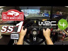 "WRC4 Rallye Monte Carlo ""SS1"" Citroen Ds3, Racing Wheel, Monte Carlo, Rally"