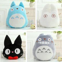 Kawaii Totoro Pillow - Welcome my homepage Cute Crafts, Felt Crafts, Studio Ghibli, Totoro Pillow, Totoro Nursery, Kawaii Cat, My Neighbor Totoro, Quirky Gifts, Cat Doll