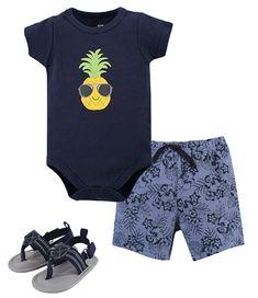 Silhouette of The Surfer Kids Girl Boy 100/% Organic Cotton Romper Bodysuit Tops 0-2T