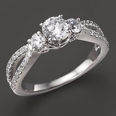 20 affordable engagement rings that actually look like engagement rings - Wedding Rings For Cheap
