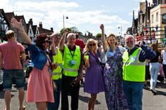 The Big Lunch in Chipping Sodbury 2013!