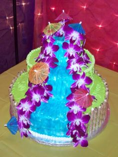 hawaiian luau cakes - Google Search
