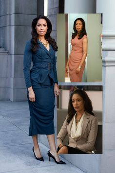 Jessica Pearson in Suits wears the most amazing dresses and skirts!!!!