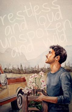 Not quite Once Upon a Time, but close enough.  Colin O'Donoghue starring in 'The Words' video by Christina Perri.