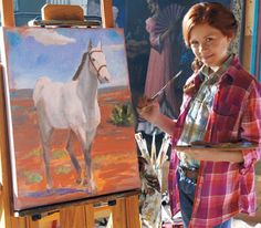 Its a Wonderful Movie: Jane Seymour stars in New American Girl Movie : Saige Paints the Sky Ag Dolls, Girl Dolls, American Girl Doll Movies, American Girls, July Movies, Sky New, Jane Seymour, Cute Horses, School