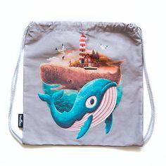 Mellow-Pillow / Backpack - Adventure begins Drawstring Backpack, Backpacks, Adventure, Pillows, Bags, Handbags, Drawstring Backpack Tutorial, Taschen, Throw Pillow