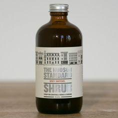 Hudson Valley-Made Spicy Switchel Shrub