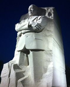 ● Stone of Hope, the Memorial Statue of Dr Martin Luther King, Jr.at the National Mall in Washington, D.C. by sculptor Lei Yixin.