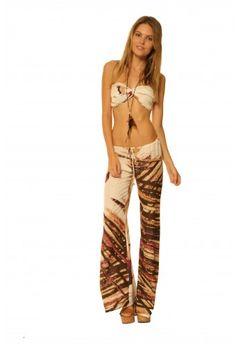 Shop Mandy Pant in Berry Peacock. #RamonaLaRue #Boutique #Miami #BohemianStyle #ShopMiami #Designer #MadeInMiami #Clothing #Womenswear  #MandyPant #BerryPeacock #Fashion