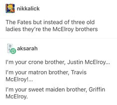 This is super fucking cursed holy shit Adventure Zone Podcast, The Adventure Zone, Bamboozled Again, A Funny, Funny Memes, Mcelroy Brothers, Night Vale, Tumblr Funny, Laugh Out Loud