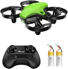 Potensic Upgraded Mini Drone Easy to Fly Even to Kids and Beginners, RC Helicopter Quadcopter with Auto Hovering, Headless Mode, Extra Batteries and Remote Control-Green Plastic Model Kits, Plastic Models, Pink Range Rovers, Mini, Best Kids Toys, Rc Helicopter, Medical Technology, Rc Drone, Control