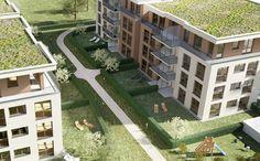 SOHO - Amadeus Plan B GmbH - Eine Mischung aus moderner Architektur und ökologischen Werten treffen bei diesem Neubauprojekt aufeinander. Ein qualitativ hochwertiges Gebäude nach KfW-70-Standard.