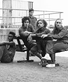 Iss the old cast <3Misfits m