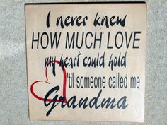 Grandma Sign Home Decor Wall Art Rustic Sign by RusticlyInspired, $30.00