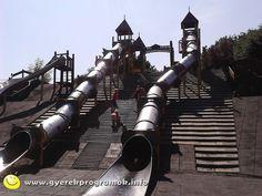 csuszdapark Hajógyári sziget Budapest