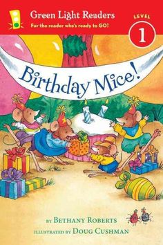 A little mouse's very lively birthday party has the cowboy theme he hoped for.