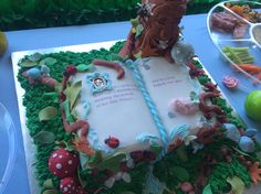 One amazing cake! An enchanted Forrest story book for the mum to be.