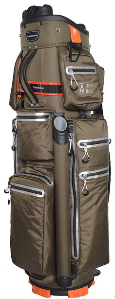 Bennington MNS Quiet Organizer 9 Waterproof Cart Bag Espresso