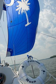 Palmetto + Sailing makes for a great day on beautiful Lake Murray