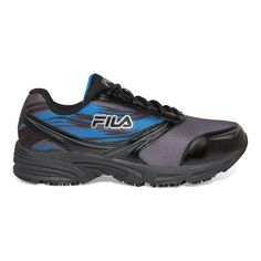 8f3765aa4312 Fila Memory Meiera 2 Men Size 11.5 Castlerock Black Leather Mesh Composite  Toe Work