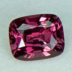 06043 - 2.43ct red/orange Sapphire - Ceylon 8.21 x 6.80 x 4.78 mm, clean, nice cut, unheated, $1650 shipped