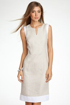 Summer Dresses 2018 Trends and more than 60 great ideas! Simple Dresses, Beautiful Dresses, Casual Dresses, Short Dresses, Fashion Dresses, Dresses For Work, Summer Dresses, Linen Dresses, Cotton Dresses