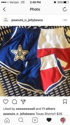 Azarhia Texas shorts