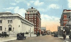 Early 1900 S Pleasant Street New Bedford Post Office And Hotel Www
