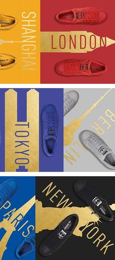 adidas Originals Superstar City Pack