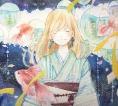 祭り囃子 by ソラコ | CREATORS BANK http://creatorsbank.com/solaco/works/277939