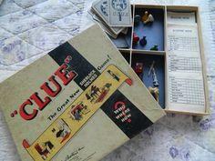 Vintage Clue Game Sherlock Holmes Edition - $10. How fun!