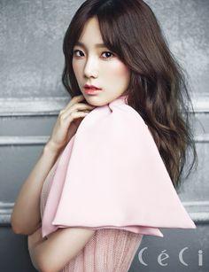 SNSD Tae Yeon - Ceci Magazine January Issue '14