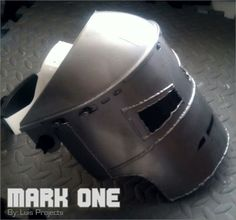 Iron Man ( Mark 1 Face shield ) #safety #halloween #mask #costume #workshop