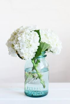 blue ball mason jar - I just got a bunch of blue mason jars . . . we use them to hold flowers around the party
