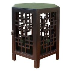 Target Mobile Site - Hexagonal Accent Table