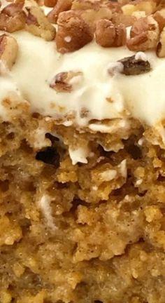 Pumpkin Recipes, Fall Recipes, Oatmeal, Breakfast, Cake, Food, The Oatmeal, Morning Coffee, Rolled Oats