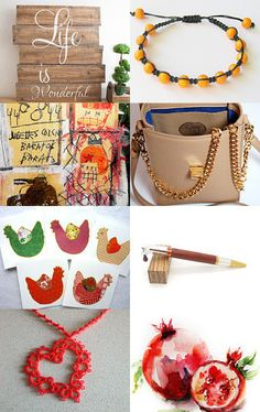 ~ LIFE IS WONDERFUL ~ by Cappriell McQuiston on Etsy--Pinned with TreasuryPin.com