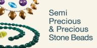 Great selection of gemstones and findings